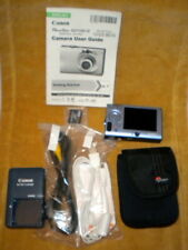 Canon Power Shot SD1100 IS LIGHT BLUE Complete with Book