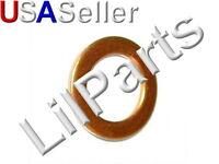 Copper Oil Drain Pan Plug Gasket Seal Flat Washer M18mm OD x 12mm ID