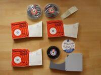 3x altes Tonband + Leerhülle BASF PES 18 Magnetophonband Afga