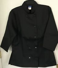 Kng Brand Adult Size S Black Restaurant Chef Coat Jacket. Rn104547 New