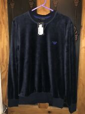 Selling A Lovely BRAND NEW ARMANI SWEATSHIRT NAVY MEN 100% AUTHENTIC Size Small.