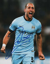 Pablo Zabaleta Manchester City Soccer Signed 8x10 Photo Coa!