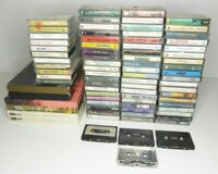 Job Lot Audio Cassette Tapes Albums Music Pop Classical Country Motown