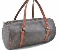 Authentic Louis Vuitton Monogram Papillon 26 Hand Bag Old Model M51366 LV B9927