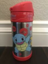 POKEMON THERMOS FUNTAINER 12OZ/355ML RED BOTTLE - BRAND NEW