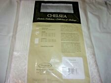 "Heritage Lace Chelsea White Lace/ Sheer Panel 48"" x 84"""