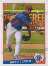 2017 Tennessee Smokies Daury Torrez RC Rookie Chicago Cubs