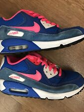 NIKE AIR MAX PINK BLUE SIZE UK 4  RUNNING GYM CASUAL