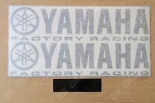 2x Yamaha Factory Racing Premium Cast Belly Decals Stickers YZF R1 R3 R6 FJR MT