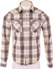 HOLLISTER Mens Shirt Medium Multicoloured Check Cotton  EM20