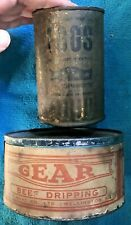 More details for ww1 or ww2 unopened rare beef dripping & dried egg