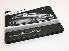 2009 Mercedes-Benz CLS-Class C219 Hardcover Brochure