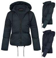 Womens Coat Hooded Zipped Outdoor Lightweight Jacket Casual Designer Winter 8-16