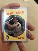 1959 Topps Brooks Robinson Baltimore Orioles #439 Baseball Card
