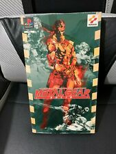 METAL GEAR SOLID DOUBLE PACK EDITION COLLECTOR - PLAYSTATION - PS1 - OVP  CIB