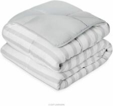 All season reversible alternative quilted comforter