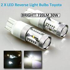 Toyota 6000K Cree LED Reverse Tail Light Bulb Globe 7440 7443