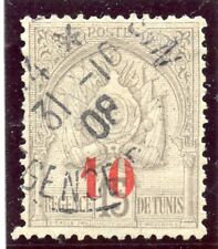 TIMBRE COLONIES FRANCAISES / TUNISIE OBLITERE N° 42