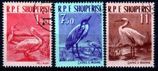 Albanien 630-32, O, Vögel