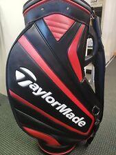 TaylorMade Staff Golf Bag Red/Black/White Single Strap