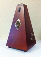 NEW Wittner 811M Traditional Wooden , Wood Pyramid Metronome with Bell, Mahogany