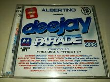 DEEJAY PARADE summer 2003 compilation (2 CD MIXED BY Fargetta/Prezioso/Gabry P.