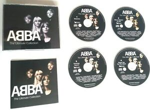 ABBA: ULTIMATE, SINGLES/ALBUMS TRACKS 4 CD BOX: ABSOLUTE BEST OF FIRST TEN YEARS