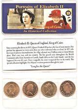 Queen Elizabeth II 4 Coin Set,Uncirculated