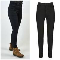 M&S Marks and Spencer Jet Black Womens Super Skinny Jeans all lengths