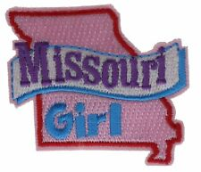 Missouri Girl State Embroidered Patch F2D17H