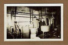 RPPC Interior view of unknown location CHEESE FACTORY