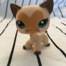 LPS COLLECTION Action Figure LITTLEST PET SHOP heart face cat kitty RARE TOY 3""
