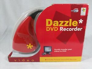 Pinnacle Dazzle DVD Recorder Transfer VHS to DVD.