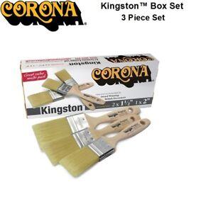 Corona Kingston 3 Piece Paint Brush Box Set Decorator's Friend