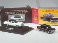 NEU: Wiking C&I SoMo Konvolut E: Mercedes 230.6 /8 zweifarbig + Seat Taxi Madrid
