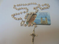 Apparition Hill Stone   Rosary from Medjugorje Handmade +Holy Gift Card