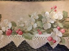 Lace  and Flowers- YORK Wallpaper Border, 5 yd pkg,  CL1302B