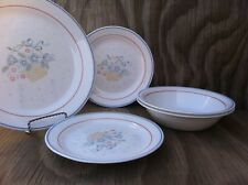 Corelle Dishes Country Cornflower Add To Your Set 3 Plates 2 Cereal Salad Bowls