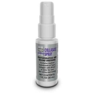 PRN Collasate Spray with Bitrex Potoperative and Wound Dressing 1 oz.