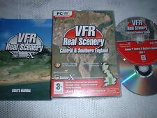 VFR REAL SCENERY V2 CENTRAL & SOUTHERN ENGLAND ~ FLIGHT SIMULATOR X FSX ADD-ON