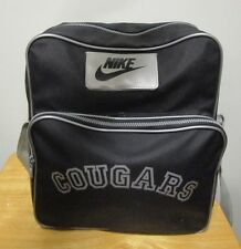 d6f7156a5d94 RARE Nike Grey Tag 80 s 90 s WSU Cougars Track   Field Athletic Bag Vintage