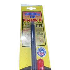 NEW FIRESTIK 2 FS5 TUNABLE TIP 5 FT CB HAM ANTENNA BLACK USA MADE!!!!!!