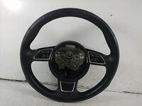 2016 AUDI A1 3 Spoke Leather Multifunction Steering Wheel 375