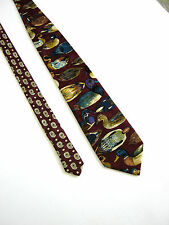 HUBERT Milano Cravatta Tie Originale 100% SETA SILK  NUOVA NEW IDEA REGALO