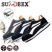 Scarpe antinfortunistica da lavoro Uomo Donna running Sneakers Punta in acciaio