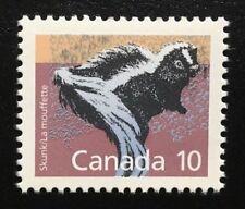 Canada #1160 Sp Mnh, Mammal Definitives - Skunk Stamp 1988