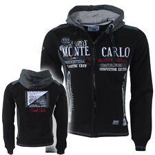 Men's GEOGRAPHICAL NORWAY Gindwiller Hoodie Fleece Jacket Black Color Size M 1
