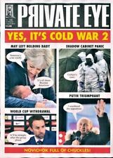 PRIVATE EYE MAGAZINE #1466 ~ 23rd MARCH - 5th APRIL 2018 ~ NEW ~