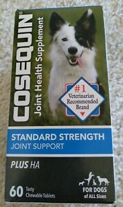 Cosequin Standard Strength Joint Support PLUS HA - 60 Ct - Dogs of All Sizes