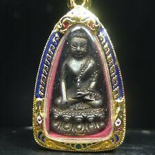 Real Phra KRING chinnabunchon Lp Tim,Wat Rahanrai amulet with Plaikuman powder@2